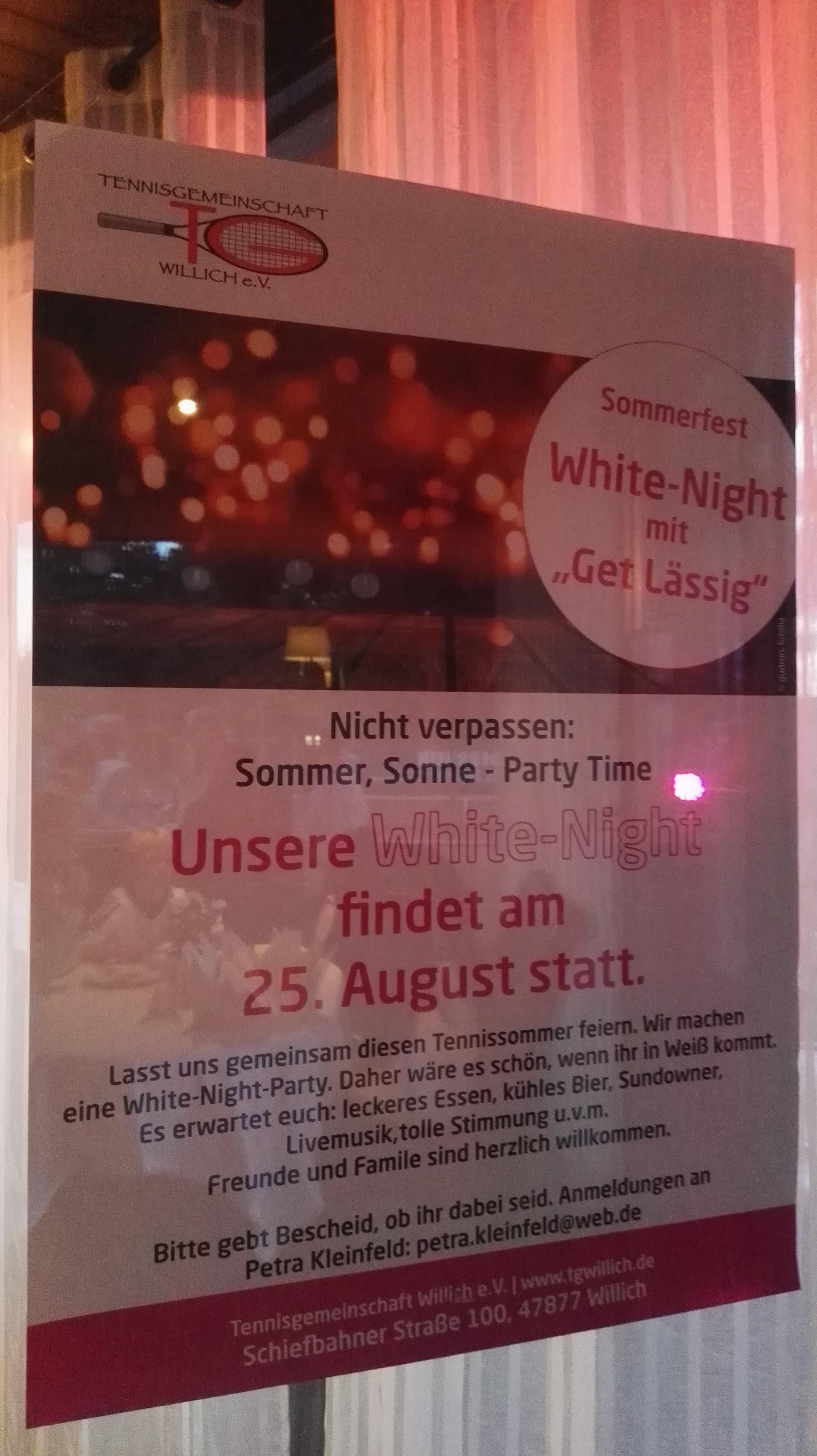 White Night 2018